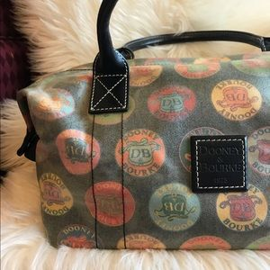 Dooney & Bourke Circle Logo Handbag